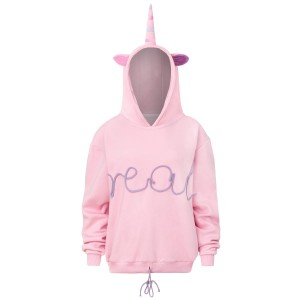 "Sweatshirt ""Real""/ pink"